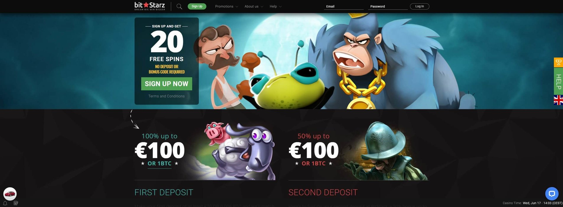 Promotions at BitStarz Casino